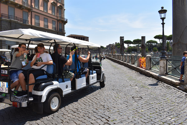 golf-cart-tour-for-cruisers-rome